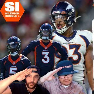 HU #697: Dre'Mont Jones Drops Expletive on Broncos' QB Battle | w/ BlackKnight232