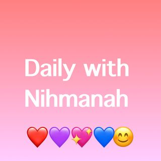 Episode 2 - Daily With Nihmanah (Ramadan)