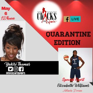 E5 Guest Atlanta Dream Elizabeth Williams