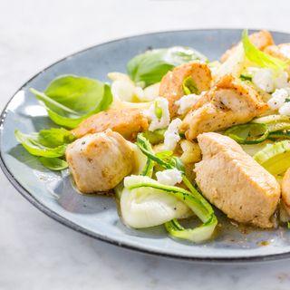 Pollo con zucchine, ricetta per bambini