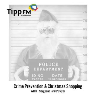 Sergeant Tom O' Dwyer talks about Crime Preventions & Christmas Shopping