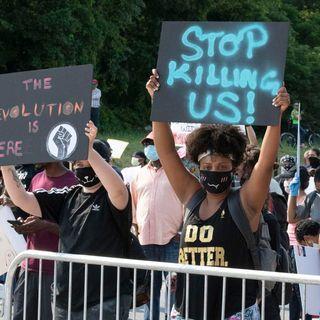 Downtown Lawrenceville Peaceful Protest Ends In Prayer Not Vandelisim