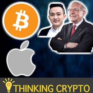 BITCOIN $7,600 Support Level - Apple CryptoKit - Arrington XRP Cap Bullish XRP - Justin Sun Warren Buffet - SEC KIK