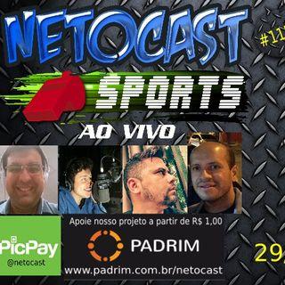 NETOCAST 1156 DE 29/05/ 2019 - ESPORTES - F1 - FUTEBOL - NBA - UFC