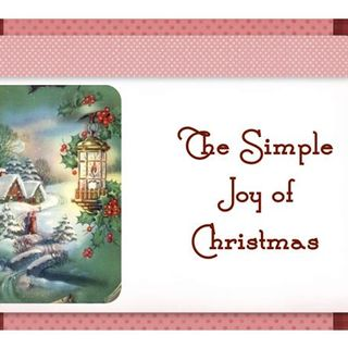The Simple Joy of the Week before Christmas Part 1