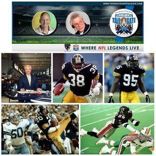 Paul Alexander, Tim Worley, Greg Lloyd, Rocky Bleier, & Randy Fuller