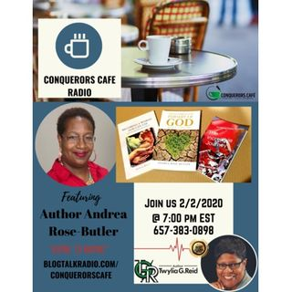 Conquerors Cafe Author Spotlight Featuring Author Andrea Butler