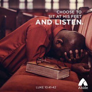 Listen At Jesus' Feet