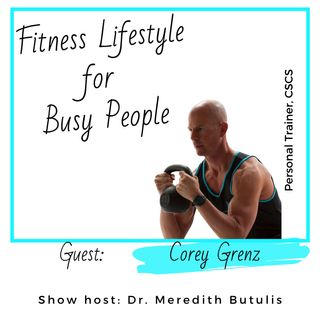 29. Tame your stress and cortisol with mindset movement and fuel now | Corey Grenz