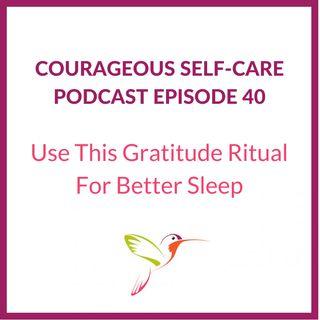 Use This Gratitude Ritual for Better Sleep