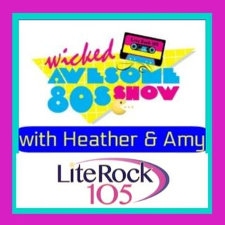 BARRY MANILOW on the WICKED AWESOME 80's SHOW on LITE ROCK 105