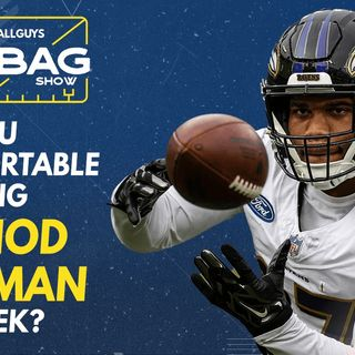 Are you comfortable starting Rashod Bateman In Week 5? || Footballguys || Fantasy Football 2021