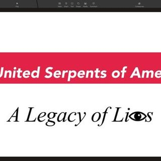 USA LOL - The United Serpents of America:A Legacy of Lies