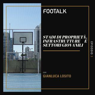Ep. 3 - Stadi di proprietà, infrastrutture e settori giovanili con GIANLUCA LOSITO by Footalk