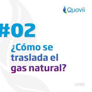 E2. ¿Cómo se traslada el gas natural?