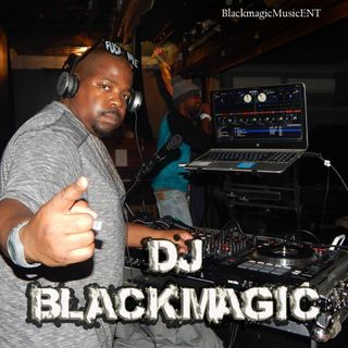 Dj Blackmagic Rocking Out live. R.I.P Hefty