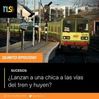 SUCESOS: ¿Lanzan a una chica a las vías del tren y huyen?