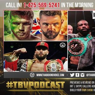 ☎️Canelo vs Saunders❓Caleb Plant❓Or David Benavidez ❓Live With Gary Russell Jr.❗️