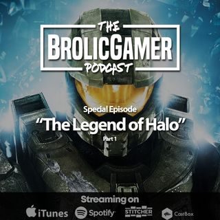 The Legend of Halo - Special Episode part one, the boys take a deep dive into the Halo universe.