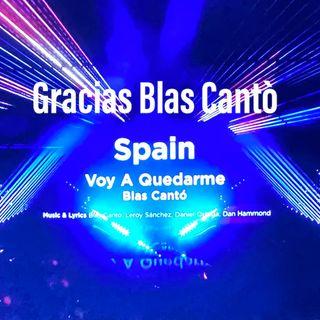 Eurovisión 2021 é finita. Gracias Blas Cantó, orgullo.