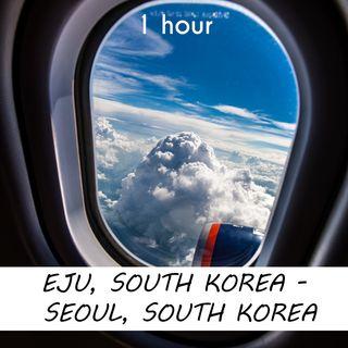 Eju - Seoul | 1 hour AIRPLANE Sound Podcast | White Noise | ASMR sounds for deep Sleep | Relax | Meditation | Colicky
