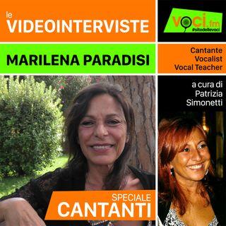 MARILENA PARADISI su VOCI.fm - clicca PLAY e ascolta l'intervista