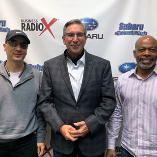 SIMON SAYS, LET'S TALK BUSINESS: Kip Rapp of Concora and Saurel Quettan of exeQfit
