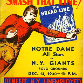 TGT Presents On This Day: December 14, 1930 Notre Dame plays the New York Giants