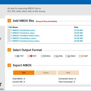 MBOX Converter to Export MBOX Emails