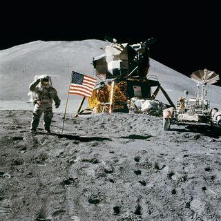 La prima fotocamera sulla Luna