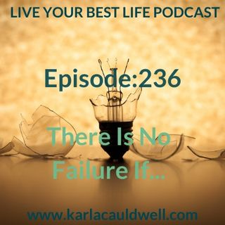 Ep 236 - There is No Failure If ...