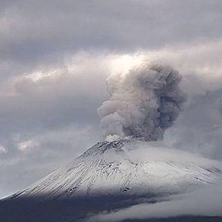 Sinaproc evalúa actividad del Popocatépetl