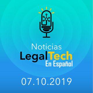 Noticias Legaltech 07.10.2019