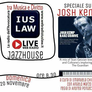 Domenica, 20 novembre 2016: #Jazz con JOSH KEMP su IusLaw Web RADIO