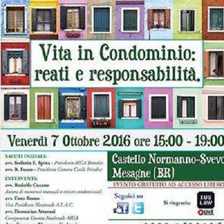 SPECIALE CONDOMINIO in collaborazione con ALAC Lecce (Ass.ne Liberi Amministratori Condominiali) e AIGA Brindisi