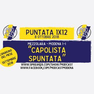 "ModCast - ""Capolista spuntata"" - 1x12"