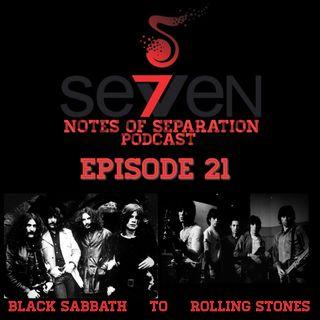 Episode Twenty-One - Black Sabbath to Rolling Stones