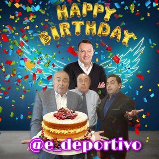 Hoy Felicitamos a Toño de Valdés por su cumpleaños en Espacio Deportivo de la Tarde 22 de Octubre 2020