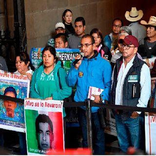 Avances en la investigación son mínimos aseguran familiares de normalistas de Ayotzinapa