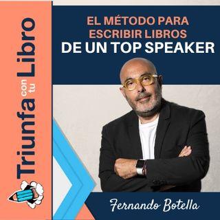 El método para escribir libros de un top speaker