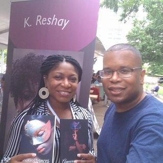 Author and Poet K. Reshay stops by #ConversationsLIVE
