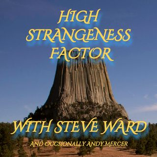 High Strangeness Factor - Adventure Writer Martin Powell