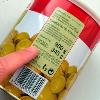 El etiquetado en los alimentos