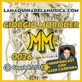 0026 MiniPodcast Con Alex Cardona - La Máquina De La Música