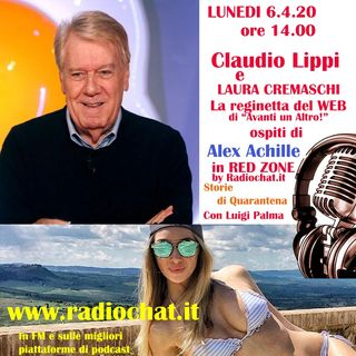 Claudio Lippi e Laura Cremaschi ai Microfoni di Alex Achille in RED ZONE by Radiochat.it