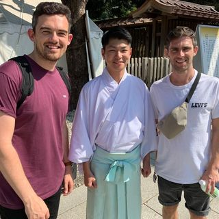 Japan 2019: E13- 01 Oct- Champei at the Shrine & Will Thompson, Japan Director- Fellowship of Christian Athletes