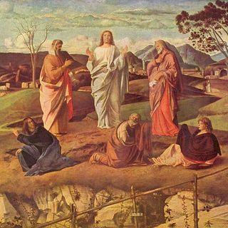 La trasfigurazione di Gesù Cristo (Mt 17,1-9)