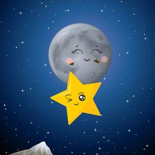 De cuando la luna y la estrella polar se fueron a comer chocolate