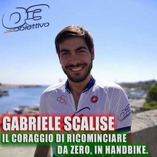 Gabriele Scalise: il coraggio di ricominciare da zero, in handbike.