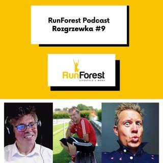 Rozgrzewka Podcasterów #9 RF Podcast #HOT16CHALLENGE2 #10KmChallenge